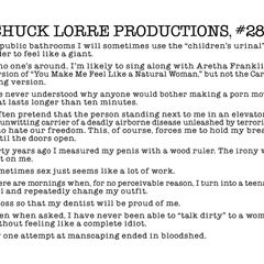 Chuck Lorre Productions, #286.
