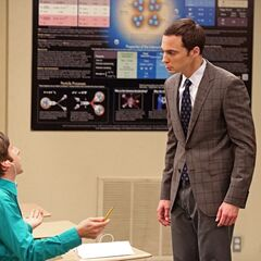 Howard as Sheldon's student.