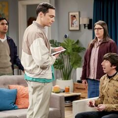 Sheldon is planning to experiment with Howard's kids.