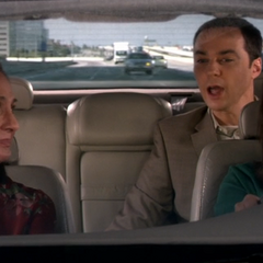 Amy cuts off Sheldon when he tries to correct her.