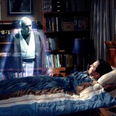 Appearing to Sheldon.