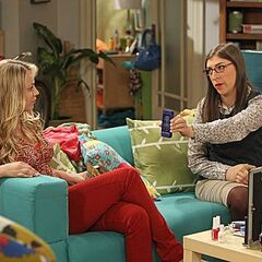 Amy telling Penny about Alex.