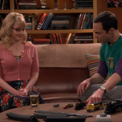 Sheldon's model train lecture.