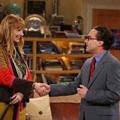 Leonard is meeting Dr. Plimpton.