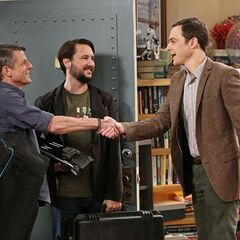 Sheldon meets Adam Nimoy.