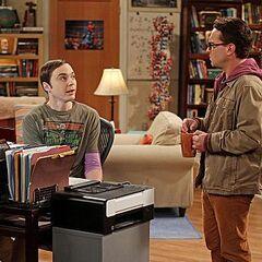 Sheldon and Leonard.