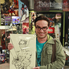 Original artwork of Leonard.