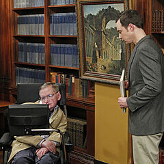 Sheldon finally gets to meet Stephen Hawking