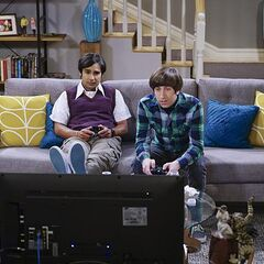 Raj complaining about his two women.