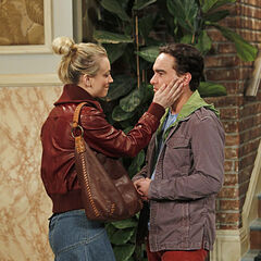 After Priya objects to Penny hanging around, Penny says goodbye to Leonard.