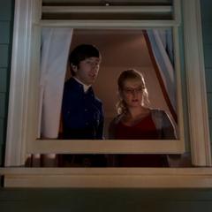Watching Raj and Stuart.