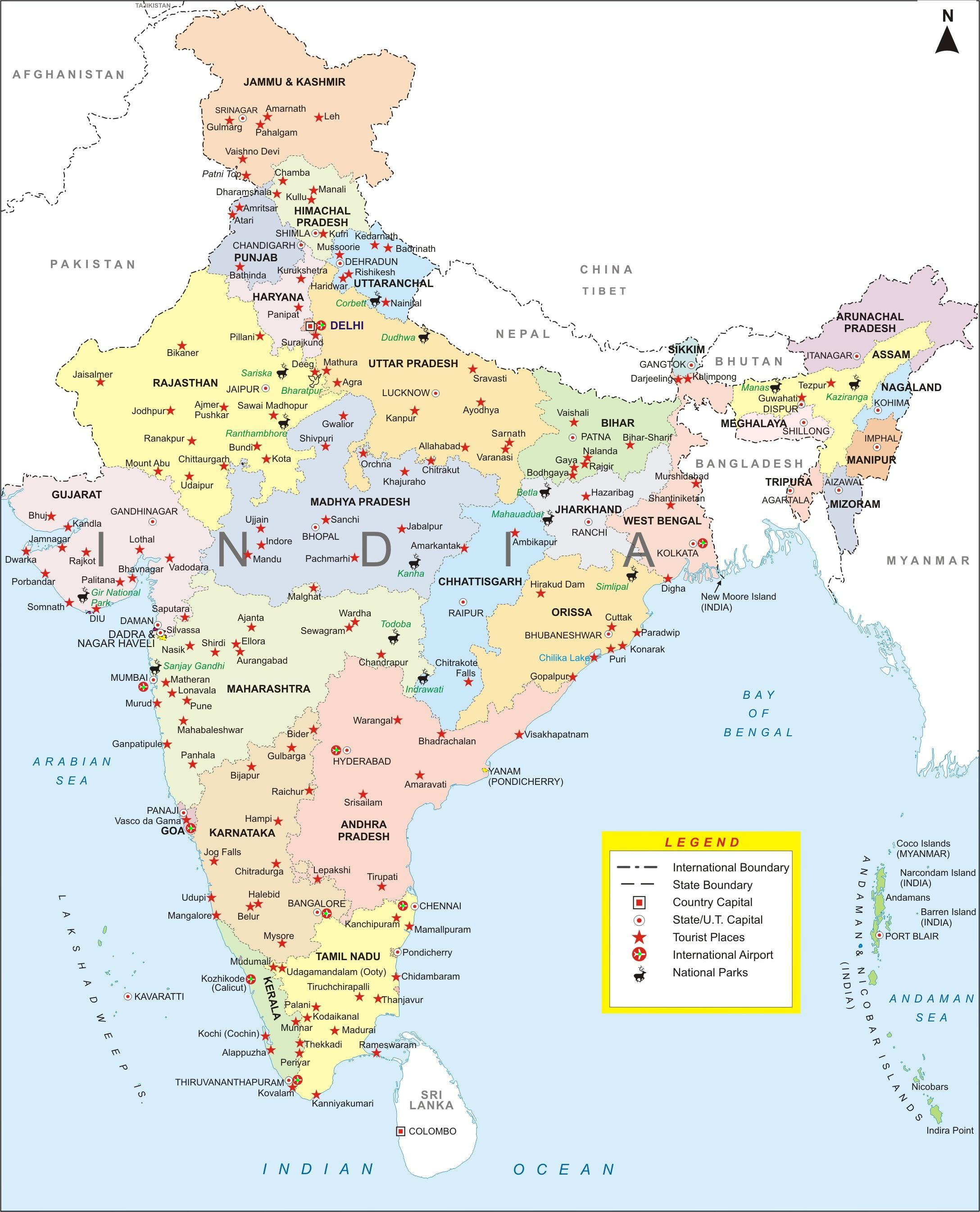 Image   India city map. | The Big Bang Theory Wiki | FANDOM