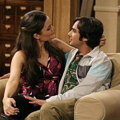 Abby and Raj.