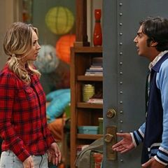 Raj complains to Penny that she blew up at Lucy.