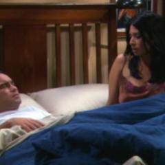 Priya and Leonard having a one-night-stand.