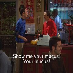 Sheldon doesn't speak good Mandarin.