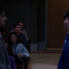 Howard and Raj keep complimenting each other.