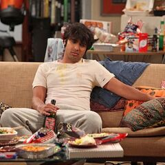 Raj depressed over his failed date with Lucy.