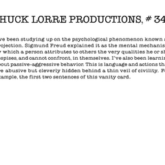 Chuck Lorre Productions, #343.