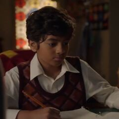Nine-Year-Old Raj Koothrapali.