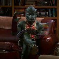 Gorn from Sheldon's nightmare.