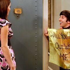 Howard asking out Sheldon's sister Missy.