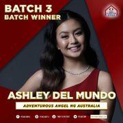 PBB8 Ashley Batch 3 Winner