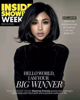 PBB7 Winner MayMay on Inside Showbiz