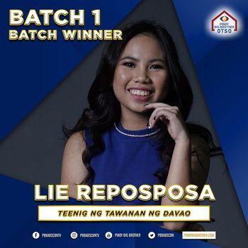 Batch 1 Winner