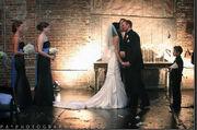Laura Crosby Wedding Day