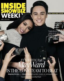 MayWard first magcover