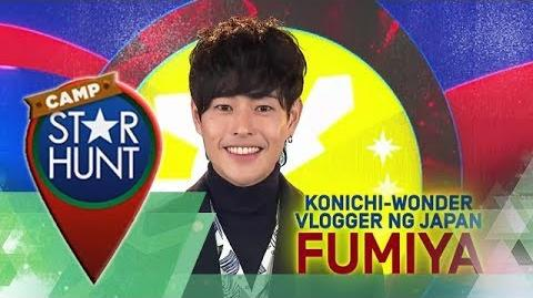 Camp Star Hunt Fumiya - Konichi-Wonder Vlogger ng Japan