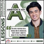 PBB8 Andre Lessons