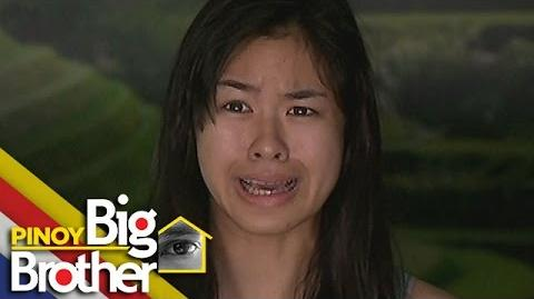 PBB7 - Big Brother scared Kisses.