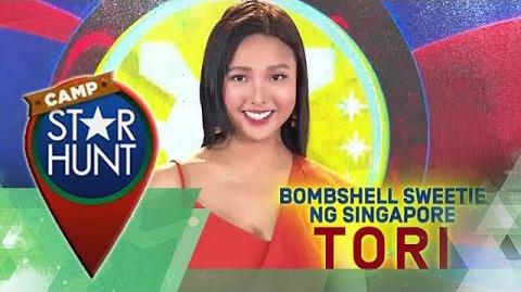 Camp Star Hunt Tori - Ang Bombshell Sweetie Ng Singapore