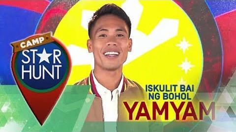 Camp Star Hunt YamYam - Iskulit Bai ng Bohol