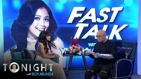 TWBA Fast Talk with Ylona Garcia