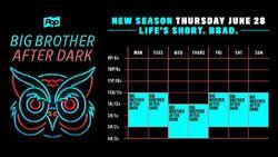 BBAD BB20 Schedule