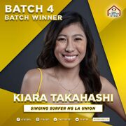 PBB8 Kiara Batch 4 Winner