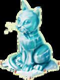 Cat Ice Sculpture