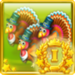Turkeys love you Achievement Icon Gold I