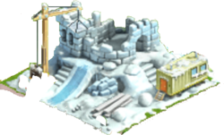 Ice Fortress Under Construction