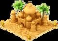 Sand Taj Mahal