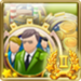 Inventor Achievement Icon Gold II