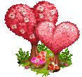 Valentines day trees-1-