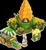 Corn booth