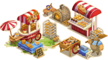 Bakery booth