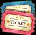 Vergnügungspark-Ticket-icon