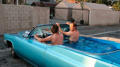 Hot tub caddy