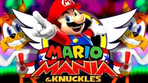 MARIO MANIA - Sonic Mania Mod
